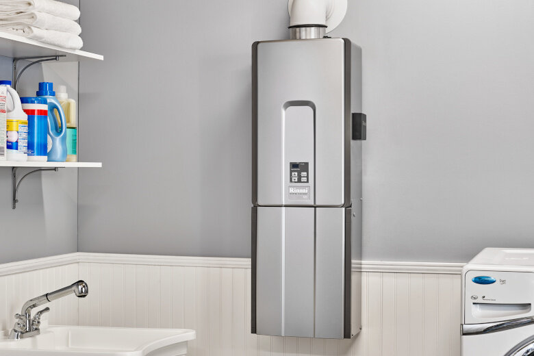 Tankless Water Heater Photograph