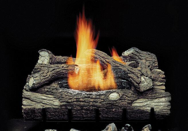 Photograph of the log set!