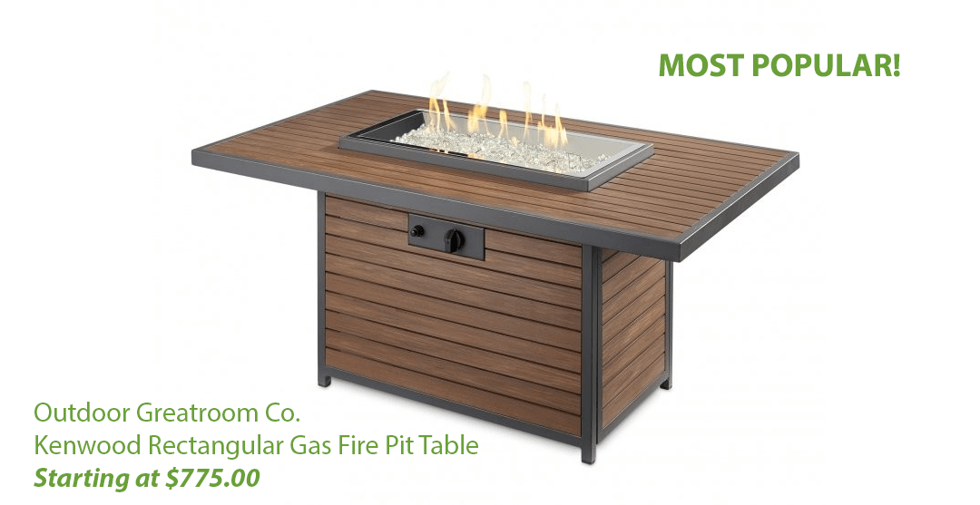 Most popular fire table at Blue Ridge Energy