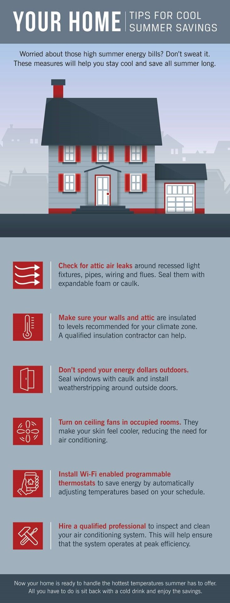 Tips for Saving on Energy Bills Infographic