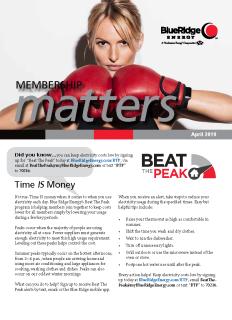 Membership MattersApril 2019