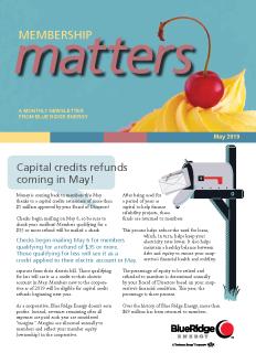 Membership MattersMay 2019