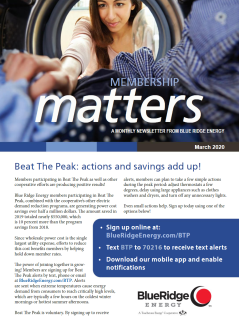 Membership MattersMarch 2020