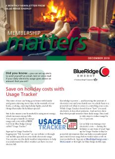 Membership MattersDecember 2018