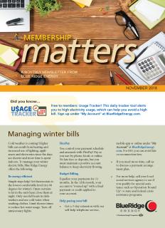 Membership MattersNovember 2018