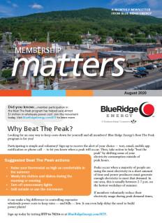 Membership MattersAugust 2020