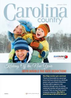 Carolina CountryJanuary 2016
