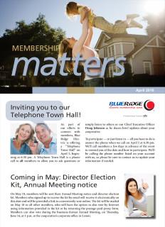 Membership MattersApril 2016