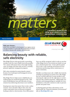 Membership MattersAugust 2016