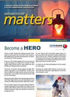 Membership MattersFebruary 2016