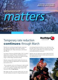 Membership MattersFebruary 2017