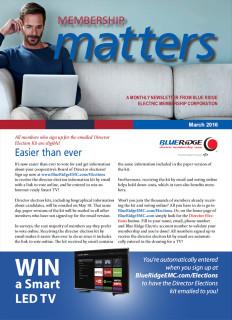Membership MattersMarch 2016