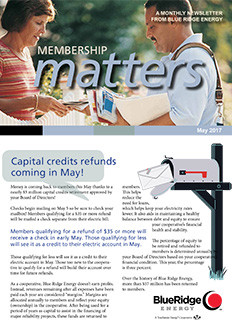 Membership MattersMay 2017
