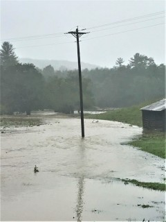 Crews are working to reach flooded locations in Ashe County