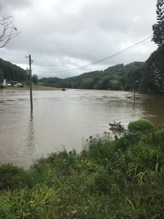 New River flooding blocked access to some damaged locations until Monday