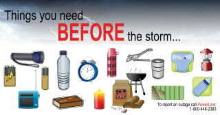 Be Prepared Before a Storm