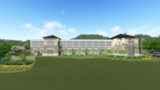 Rendering of Blue Ridge Energy Corp Office