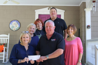 Blue Ridge Energy Propane and Fuels donates to Wig Bank