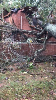 Caldwell County experienced severe damage