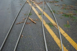 Stay away from downed power lines!