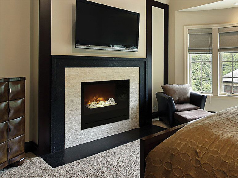 "Home Fire 36"" Electric Fireplace"