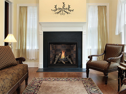 Tahoe Clean-Face Premium Traditional Direct-Vent Fireplace