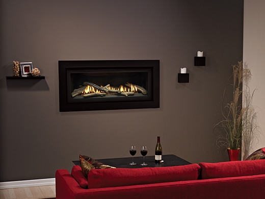 Boulevard Linear Traditional Direct-vent Fireplace