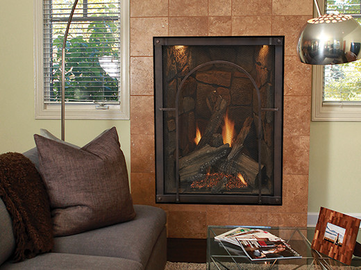 Forest Hills Traditional Portrait Fireplace