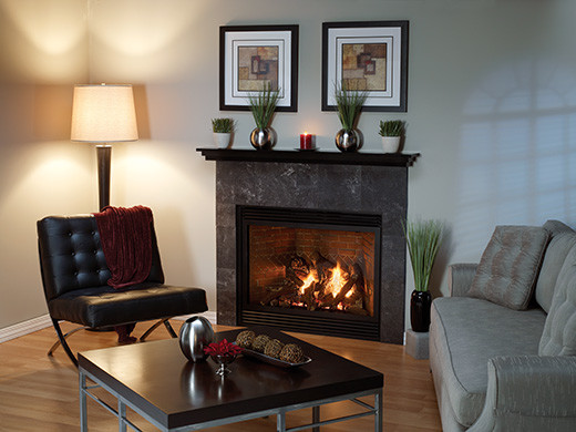 Tahoe Luxury Direct-vent Fireplace