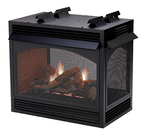 Vail Multi-Sided Fireplace