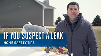 If you suspect a leak