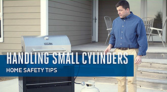 Handling Small Cylinders